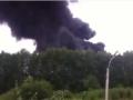 В России загорелась нефтебаза Газпрома