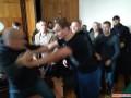 В Житомирском суде подрались С14 и сторонниками блогера Муравицкого