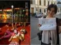 День в фото: Потоп в Батуми, битва томатами и Je suis Сенцов
