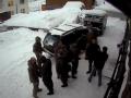 Полиция показала видео драки на Драгобрате