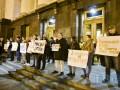 На Банковой протестуют против сепаратистов в Консультативном совете