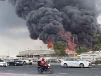 В ОАЭ горит крупный рынок