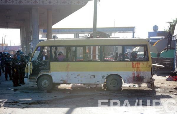 Взрыв автобуса в Кабуле