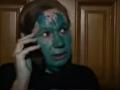 Мать Бережной облили зеленкой в присутствии копов