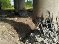 Взрыв в Луганске: Мост понес серьезные повреждения