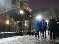 Под посольство РФ в Киеве принесли шины