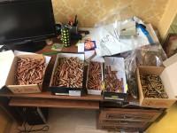 У жителя Киева изъяли арсенал оружия и 4,5 тысячи патронов