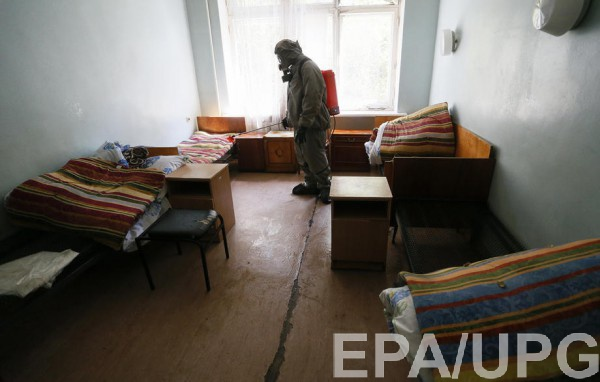 Коек в Украине пока хватает