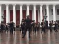 Оркестр Нацгвардии исполнил известную песню Ленинграда