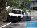 В Мелитополе взорвали машину частного предпринимателя