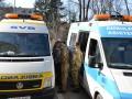 Бойцы АТО получили реанимобили от волонтеров Испании и Италии