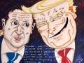 Джим Кэрри нарисовал карикатуру на Трампа и Зеленского