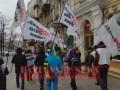 В Киеве ФОПы пошли просить маму Гетманцева забрать сына из ВР