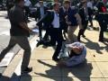 Охранники Эрдогана в США жестоко избили протестующих