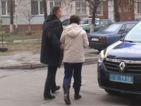 Киевлянка выбросила с 8 этажа мужа, оставив записку маме