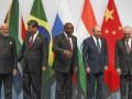 Главы стран БРИКС не смогли найти свои флаги