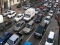 Киев остановился в пробках из-за ремонта на Шулявском мосту