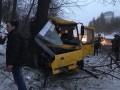 В Киеве столкнулись две маршрутки, образовалась большая пробка