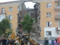 В Волгограде из-за взрыва обрушился подъезд дома