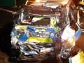 В Германии украинская фура въехала в авто полиции