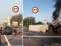 Под Киевом фура врезалась в два легковых автомобиля, двое погибших