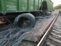 ЧП на железной дороге близ Днепра задержало больше десятка поездов