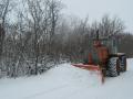 Метели и снежные заносы усложнили проезд на дорогах Украины