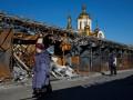 В Донецке слышны взрывы и залпы, частично остановлен транспорт