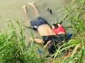 Отец с годовалой дочкой утонули на глазах у матери на границе США и Мексики