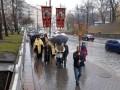 Сторонники УПЦ КП устроили акцию протеста в Киеве
