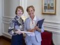 Новый посол Германии вручила Зеркаль копии верительных грамот