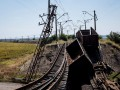 Боевики взорвали железнодорожные пути у линии фронта