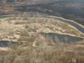 В зоне ЧАЭС продолжает тлеть травяной настил