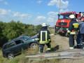 В Днепре автомобиль слетел с моста