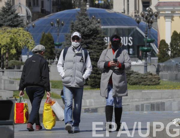 В Украине изменили правила ношения масок в красной зоне карантина0