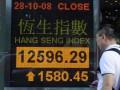 Рынок  Гонконга резко повысился