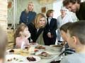 Елена Зеленская проверила питание в школах Киева и Киевской области