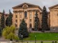 Ночью горело здание парламента Армении