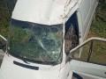 В Черновицкой области бус с телом покойницы попал в аварию