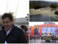 Итоги 7 ноября: отставка Саакашвили, военный парад в Москве и потоп на Закарпатье