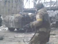 Опубликовано архивное видео из Донецкого аэропорта в разгар боев