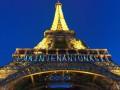 В Париже ради женщин изменили подсветку Эйфелевой башни