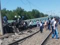В Казахстане сошел с рельсов поезд, есть жертвы