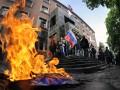 Судьба захваченных зданий в Донецке: кто заседает в бизнес-центрах и госучреждениях