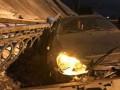 Момент обрушения моста в Оренбурге попал на видео