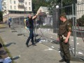 Годовщина трагедии MH17: посольство РФ в Киеве забросали бумажными самолетиками