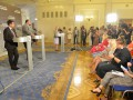 Оживленней всего будущие депутаты обсуждают размещение в зале ВР