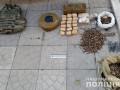 В Запорожье в кафе нашли тайник с боеприпасами