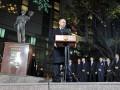 День в фото: Путин открыл памятник Пушкину в Сеуле и пьяный Милевский у разбитого Ferrari