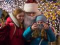 Кличко в образе Деда Мороза поздравил киевлян с Новым годом